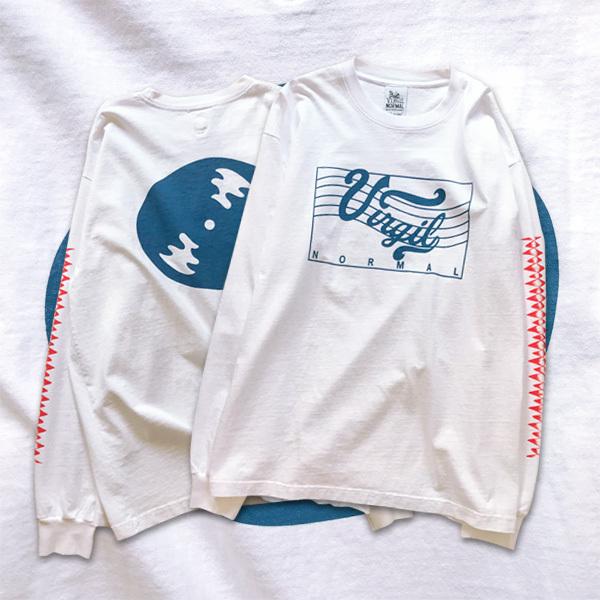 VIRGIL NORMAL   Prelude LS T-shirt-White