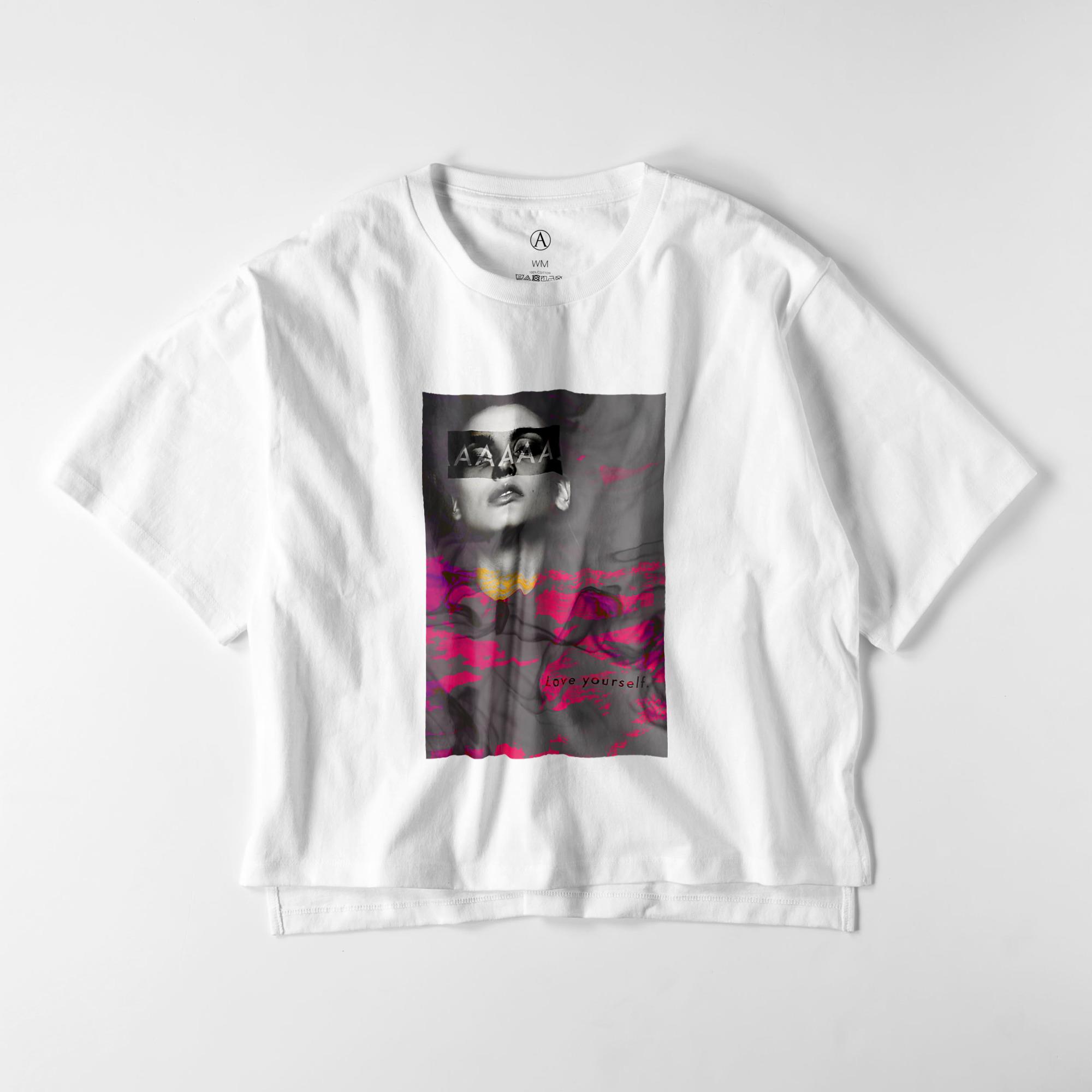 Love Yourself ビッグシルエットTシャツ / Ladies(4色)