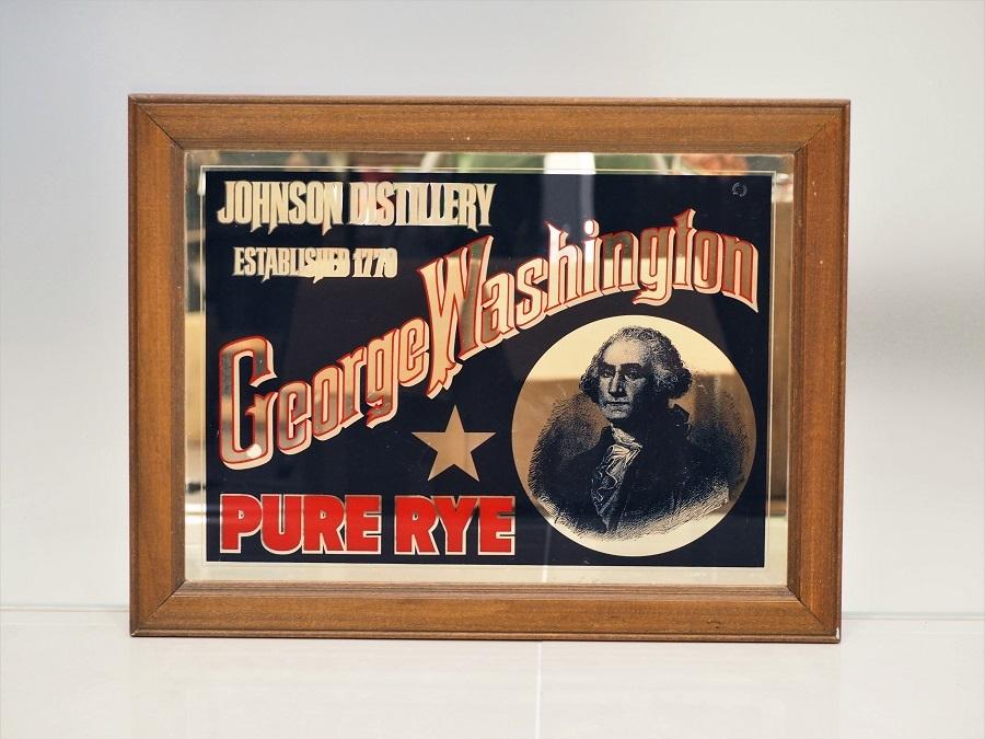 品番0015 パブミラー / Pub Mirror [George Washington]