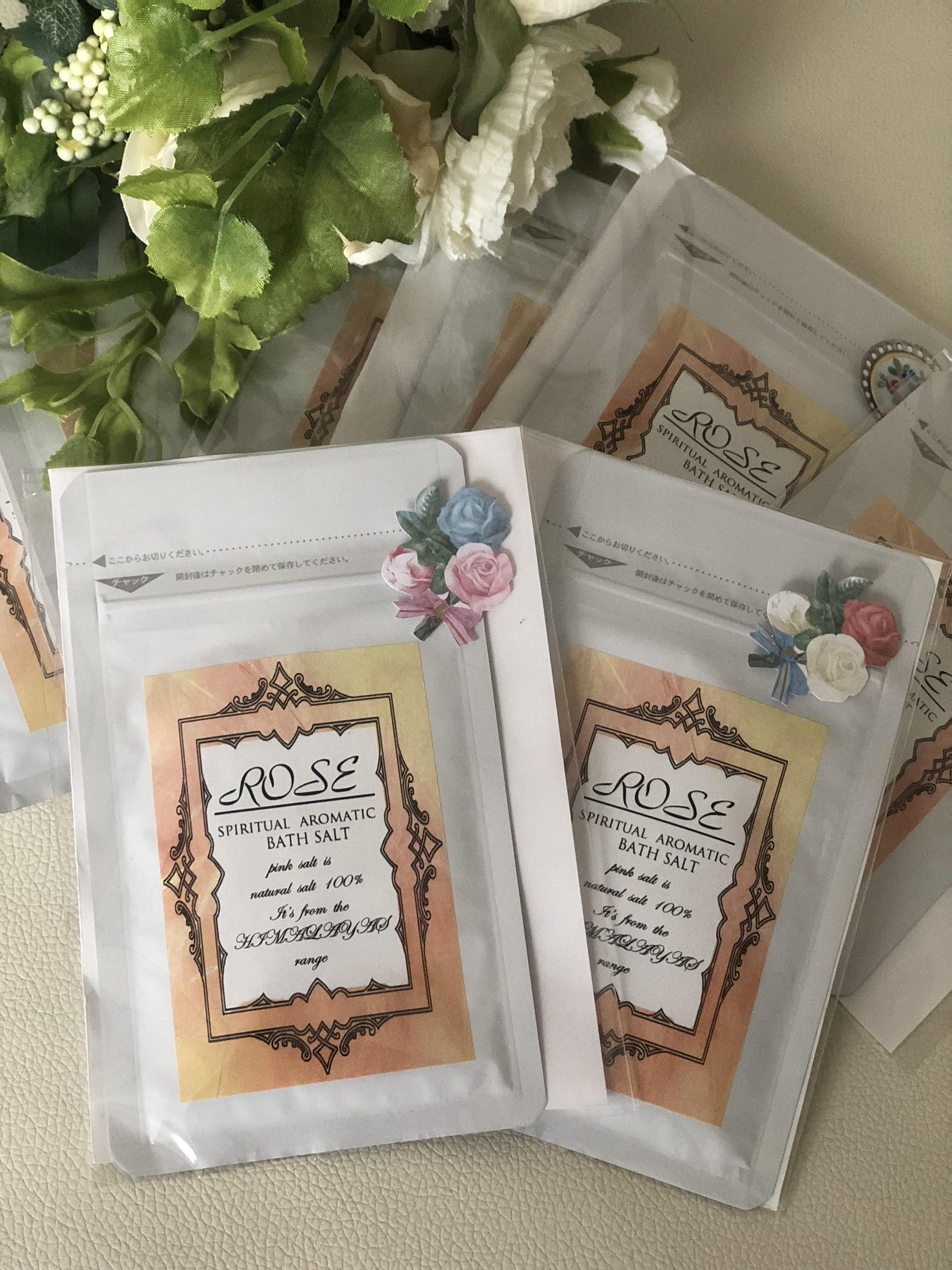 AROMATIC ROSE     BATH SALT(定期便)