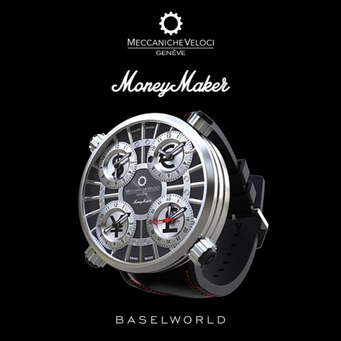 【MECCANICHE VELOCI メカニケ・ヴェローチ】MoneyMaker black マネーメーカー(ブラック) 世界限定250本/正規輸入品