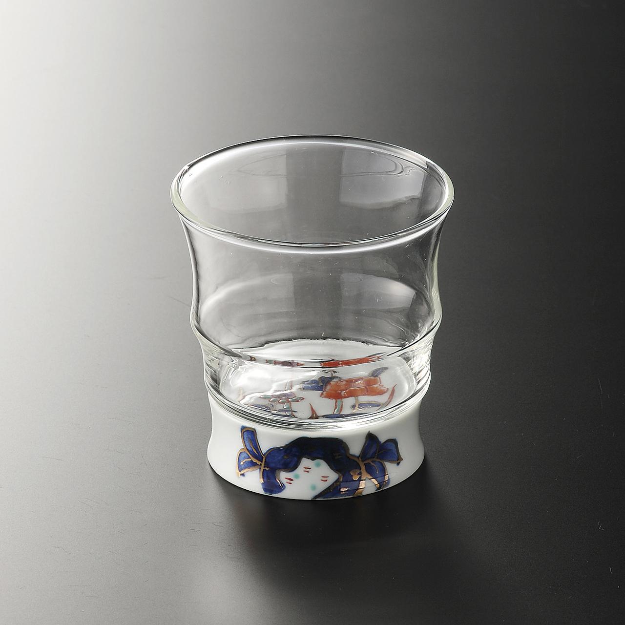 ロックグラス (古伊万里風) 20-305