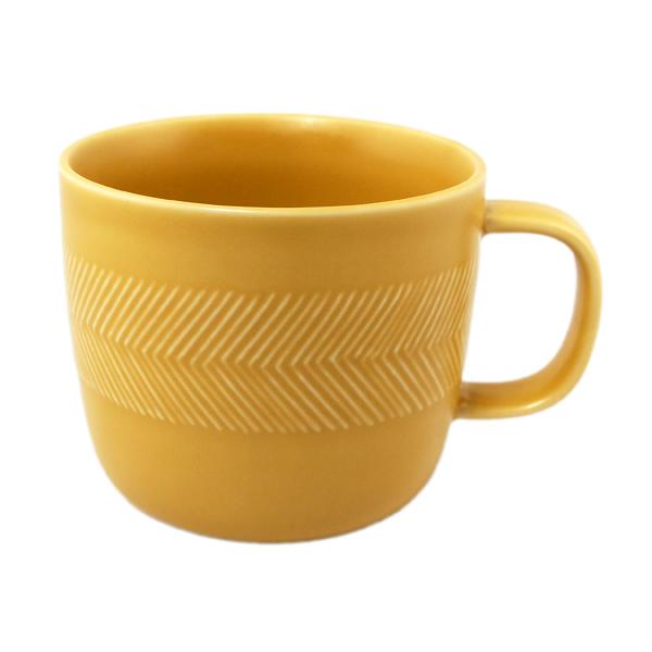 BIRDS' WORDS Tabletop Mug yellow