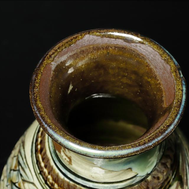 金城次郎 作 魚文花瓶