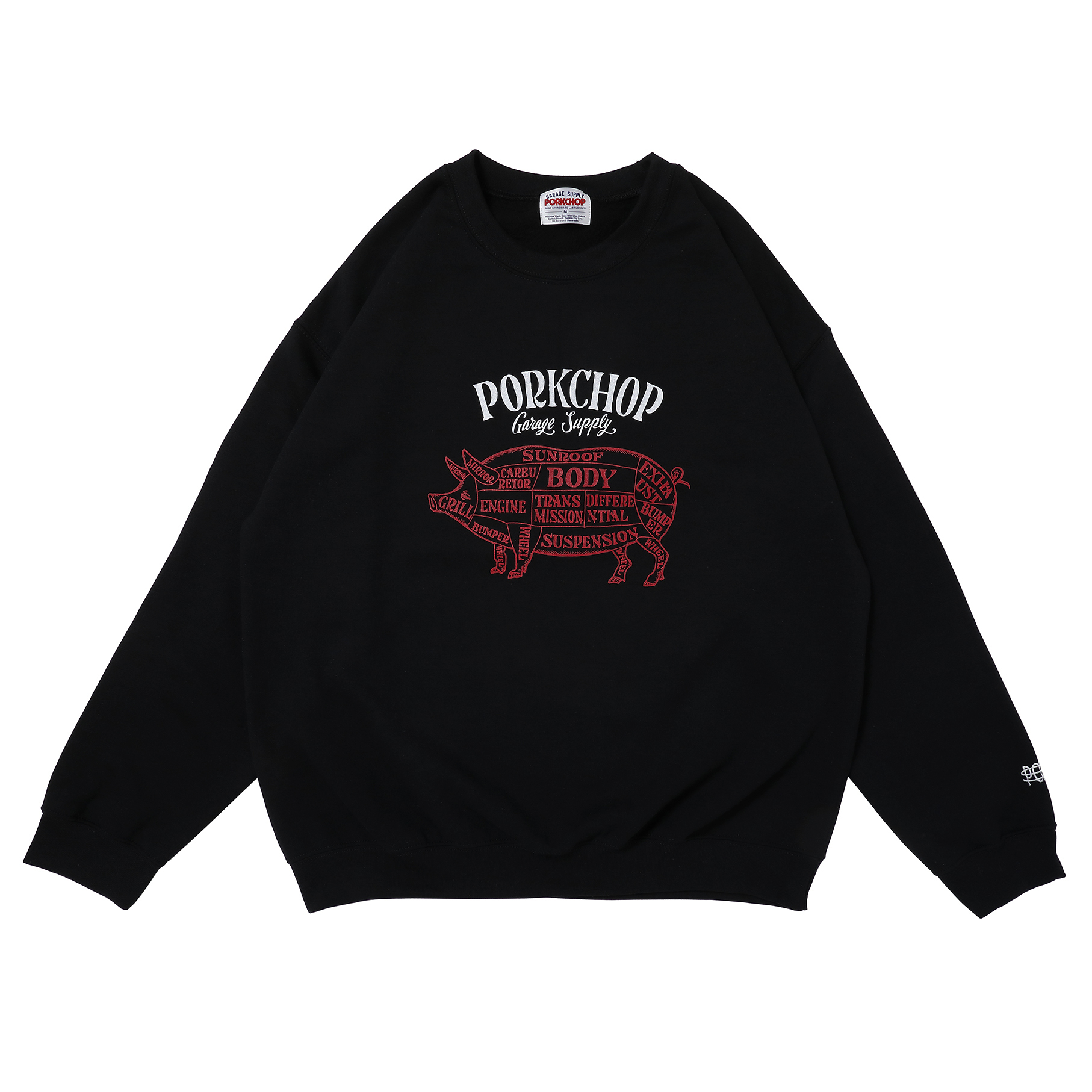 CHOPPERS WELCOME SWEAT/BLACK