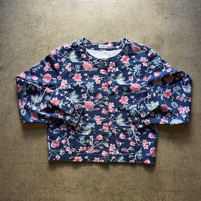 Cherokee Floral Denim Jacket
