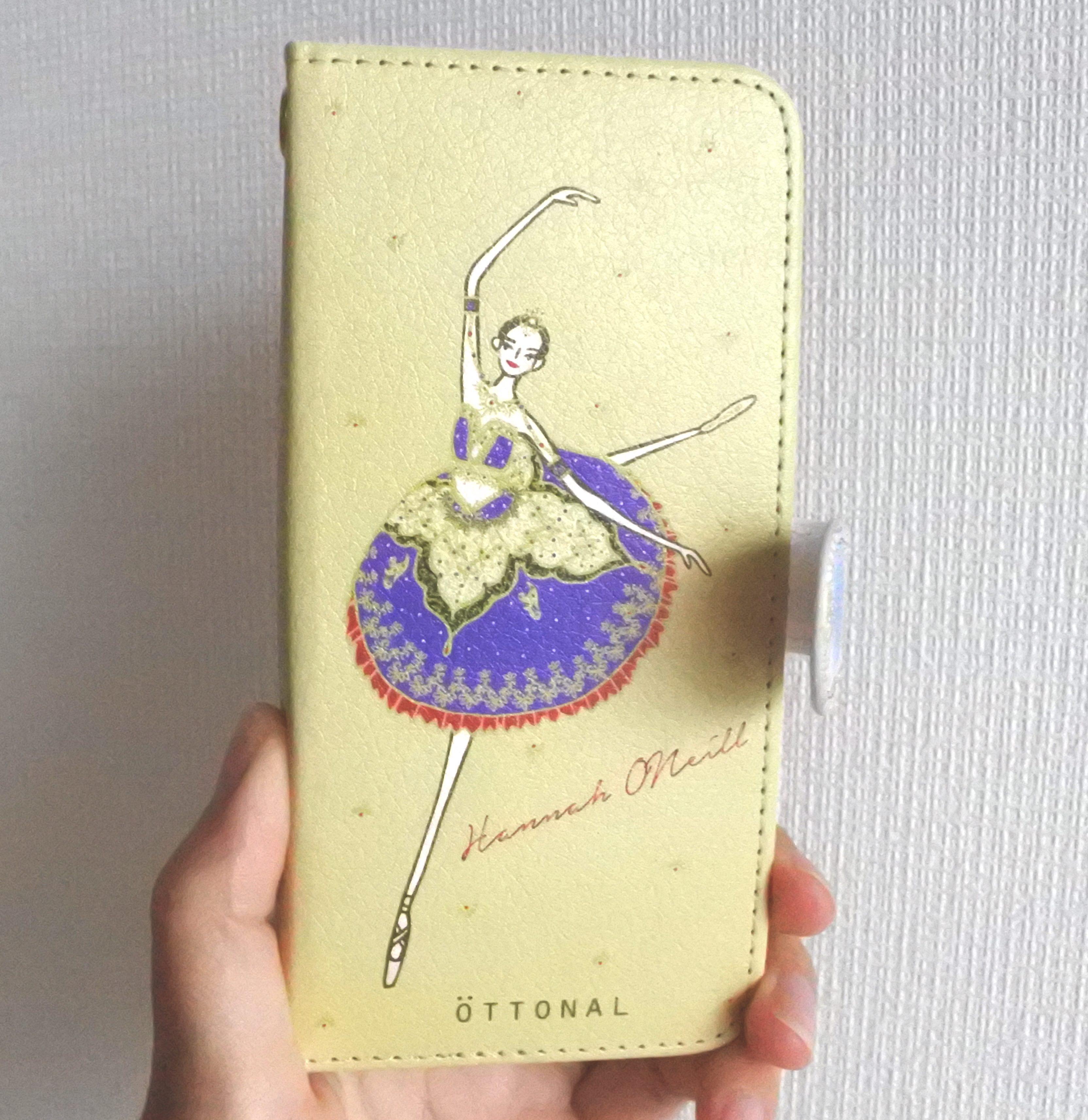 ★パリ・オペラ座コラボ★ (iPhone)オニールハナ 手帳型スマホケース - 画像1