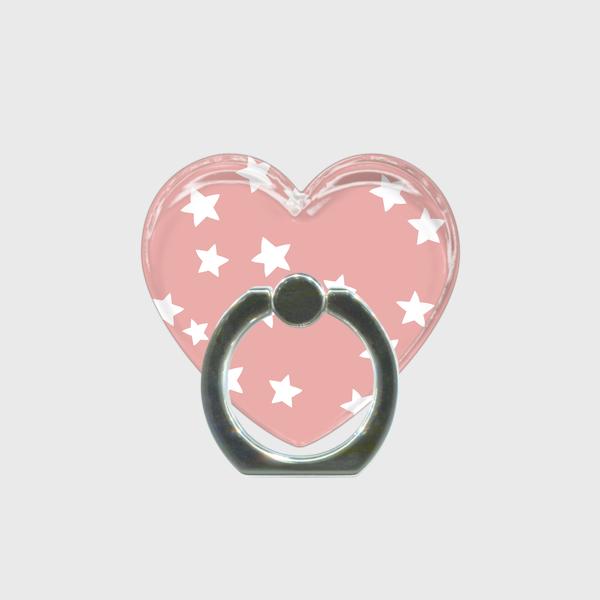スマホリング☆star×pink