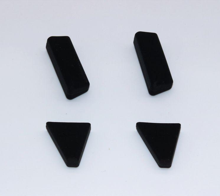 Mavic Pro用 ランディングガード 衝撃吸収 接地面アップ (1.5cm ブラック)