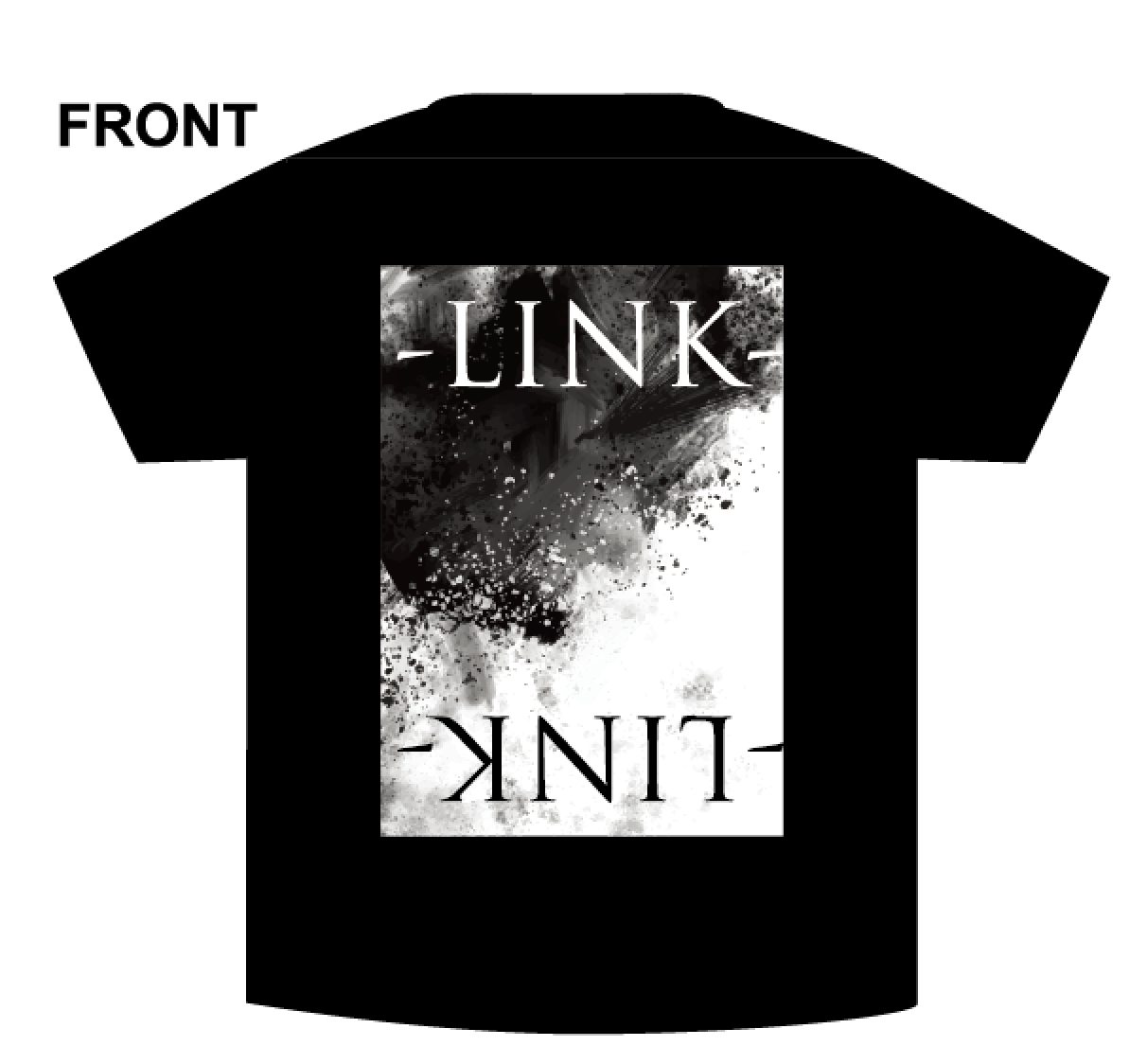 "Tシャツ""LINK"" 黒 / -LINK-"
