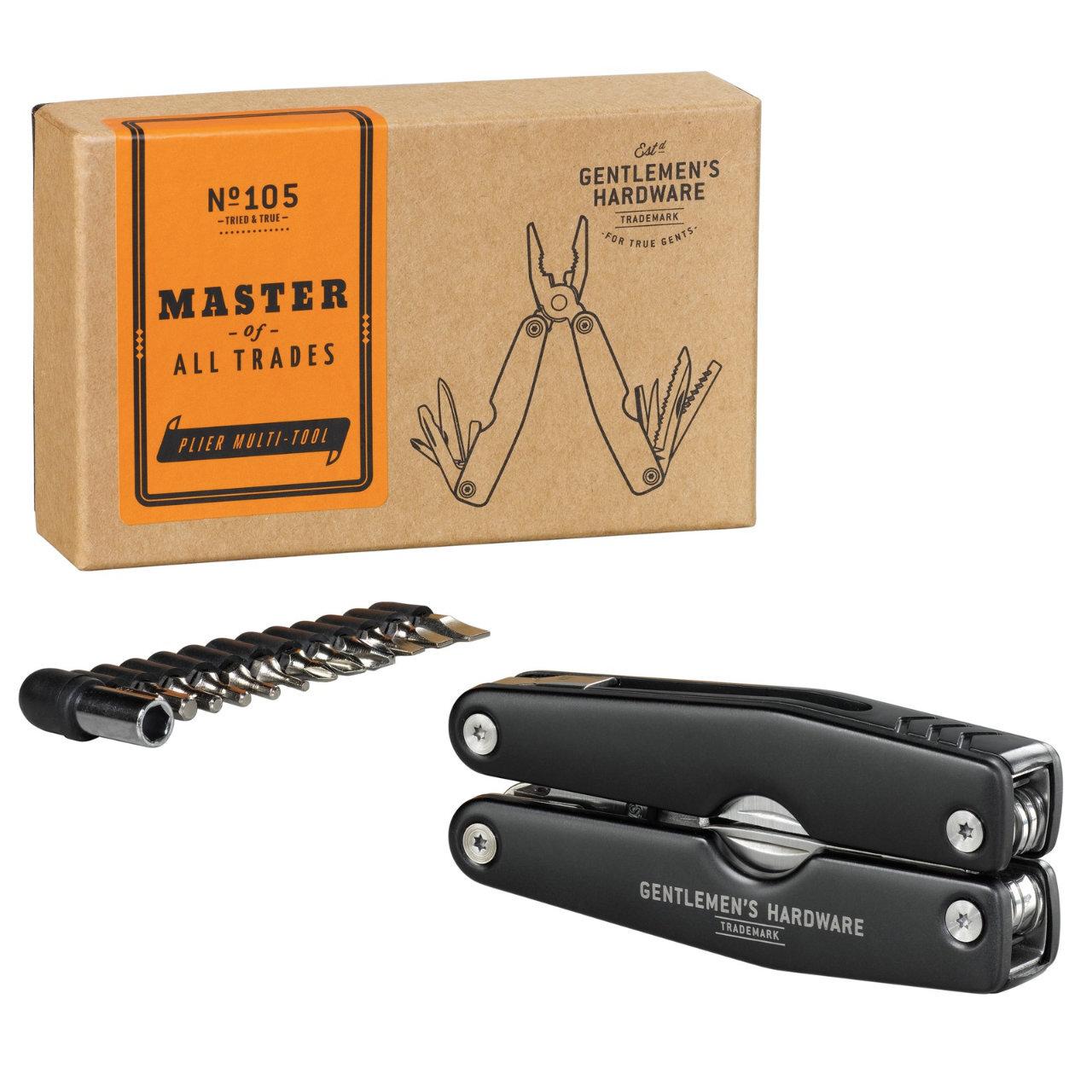 【Gentlemen's Hardware】 12種類ものマルチツールセット