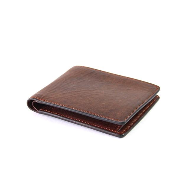 エゾシカレザー二つ折財布
