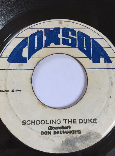 Don Drummond(ドンドラモンド) - Schooling The Duke【7'】