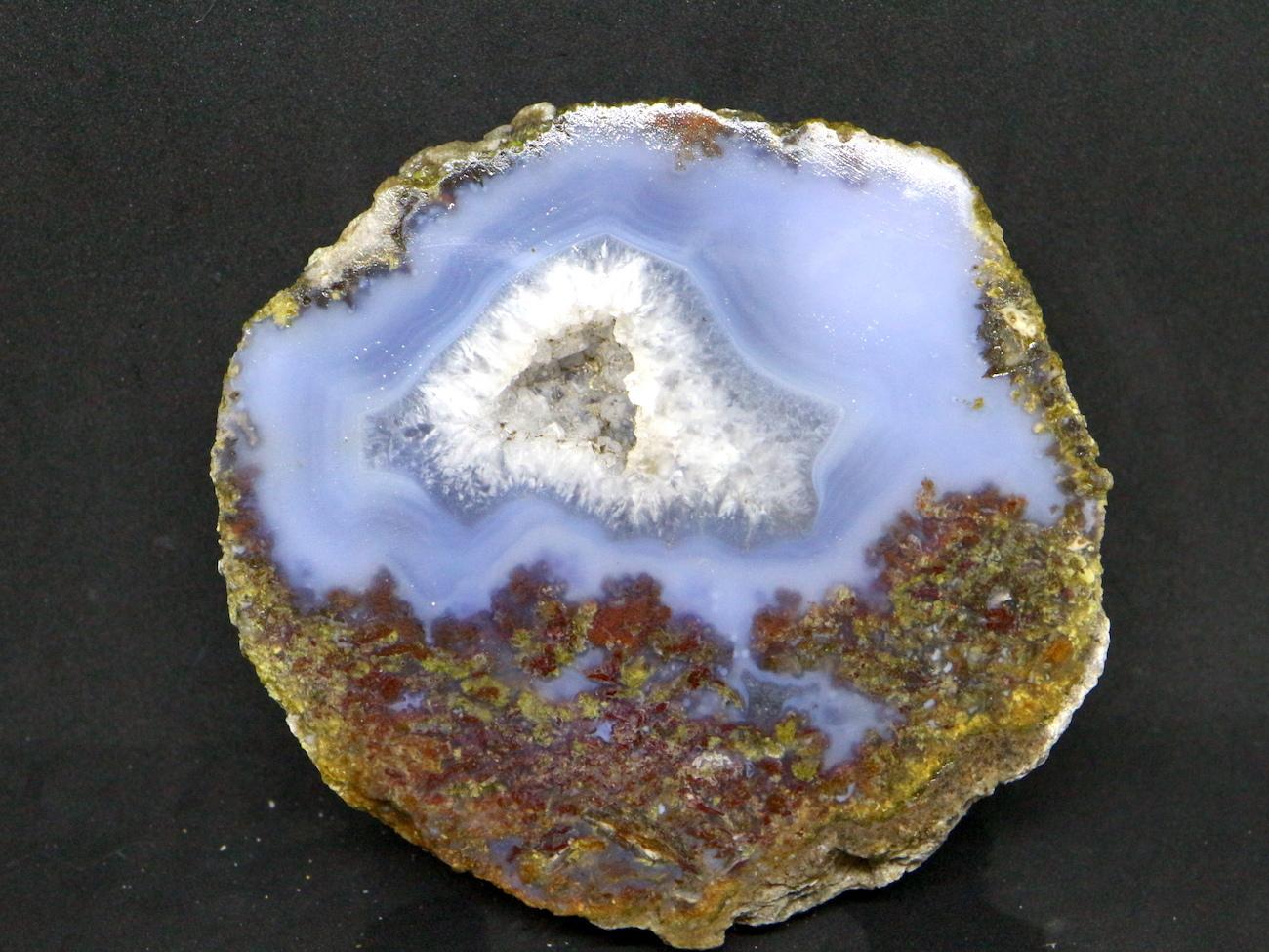 サンダーエッグ  瑪瑙 原石 418g THE006 天然石 鉱物 パワーストーン