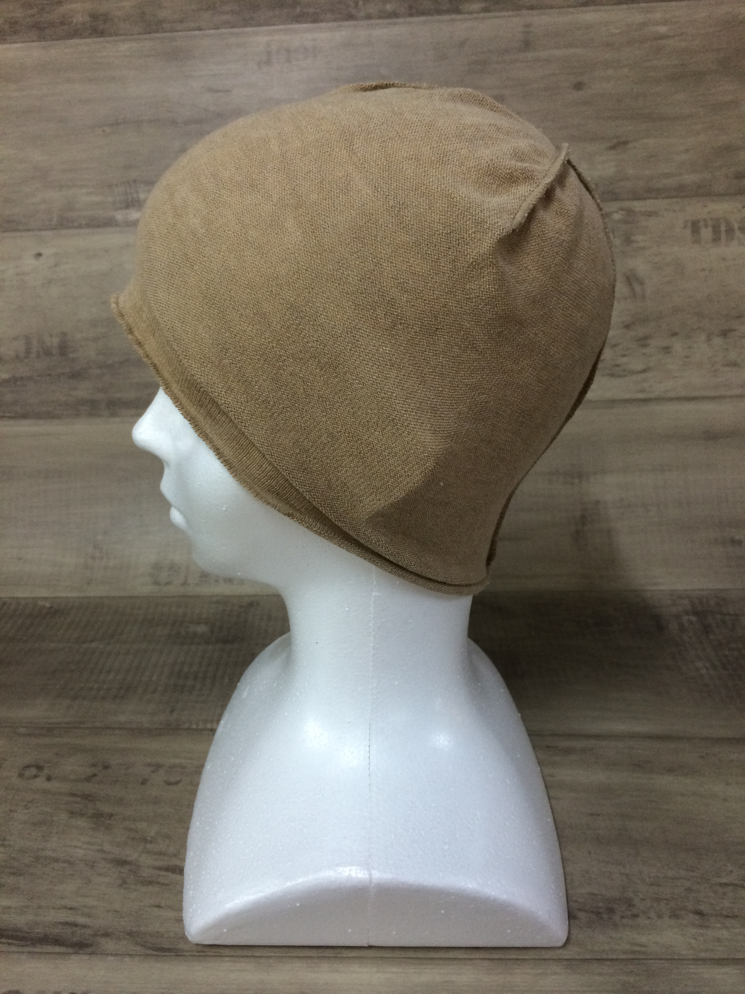【送料無料】こころが軽くなるニット帽子amuamu|新潟の老舗ニットメーカーが考案した抗がん治療中の脱毛ストレスを軽減する機能性と豊富なデザイン NB-6057|カフェモカ <オーガニックコットン インナー>
