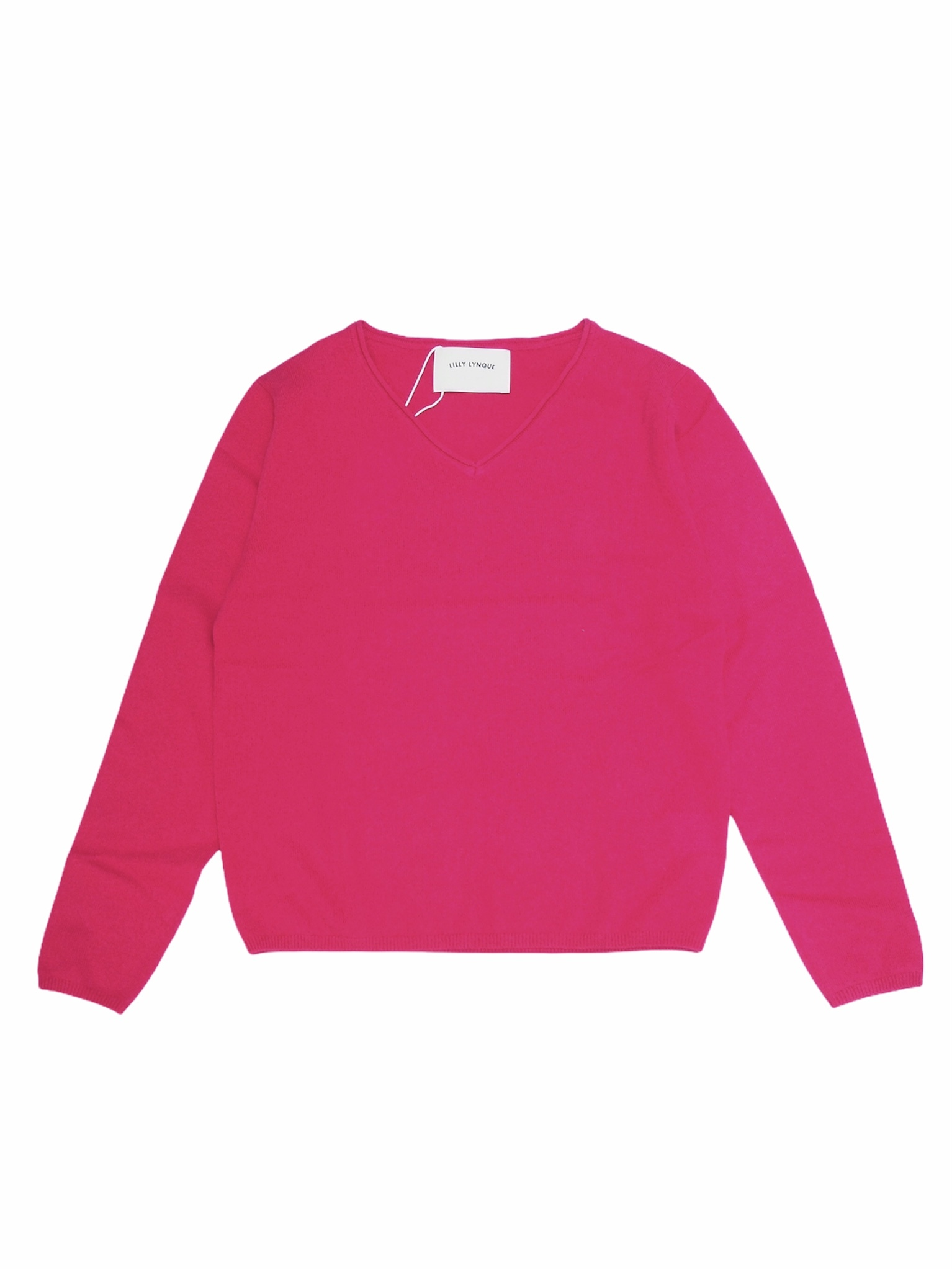 【LILLY LYNQUE】CASHMERE V NECK KNIT
