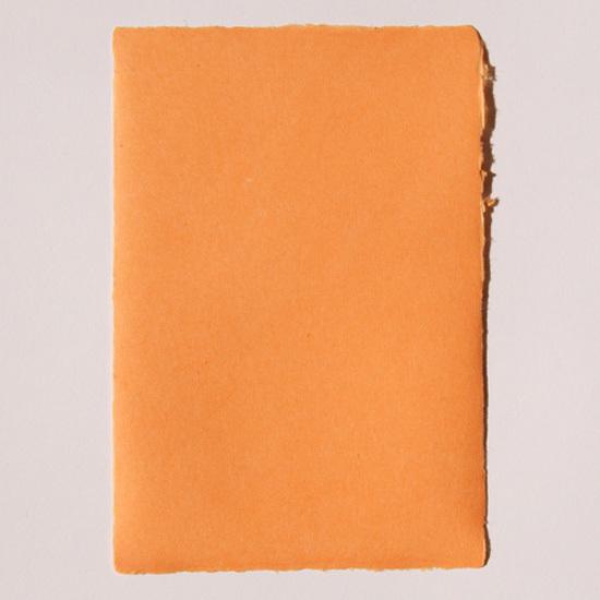 色付き耳付きはがき(3枚組)_01オレンジ