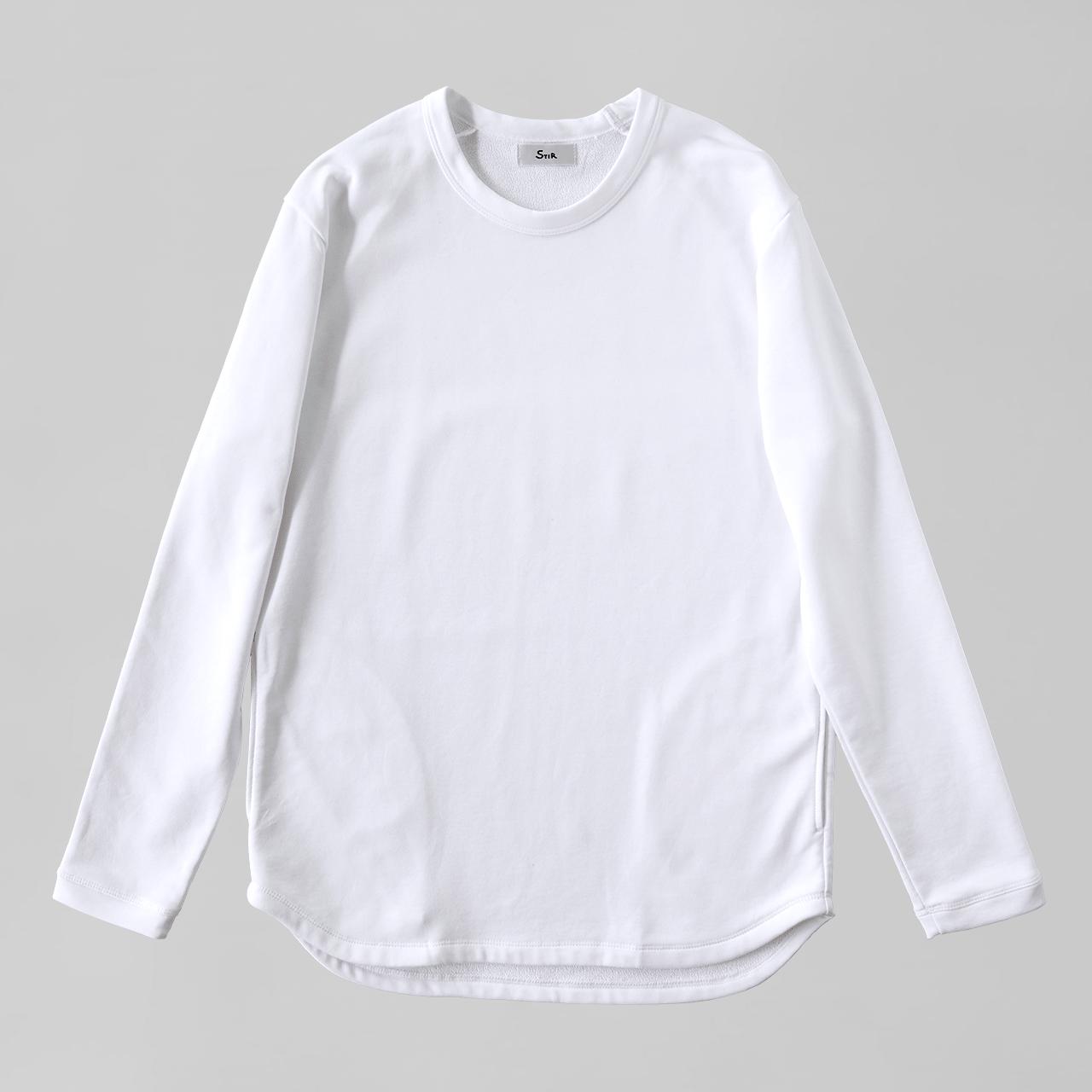 アーバンドレススウェットシャツ / Urban Dress Sweatshirt #WHITE