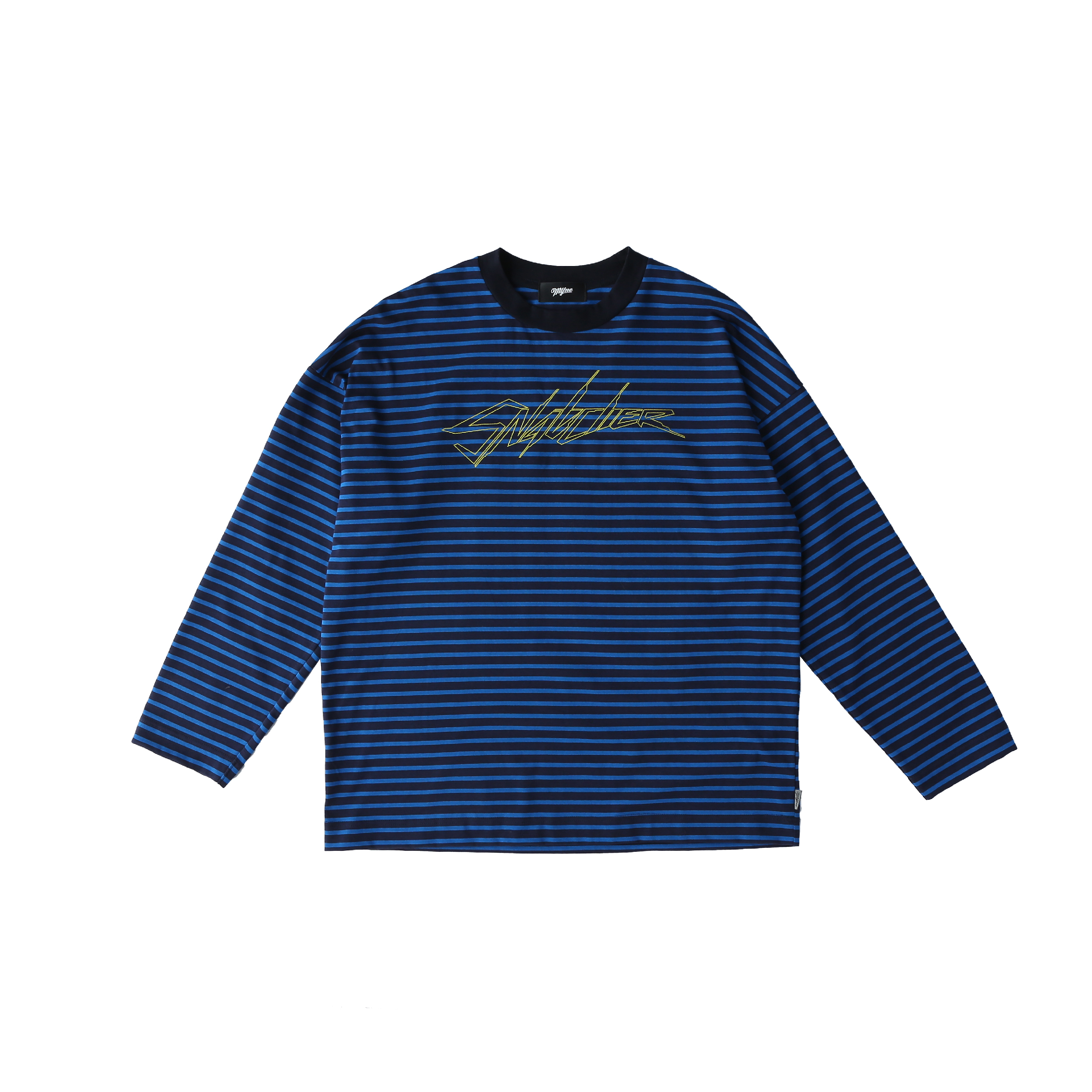 【30%OFF】SNATCHER border T-shirt / BLUE - 画像1