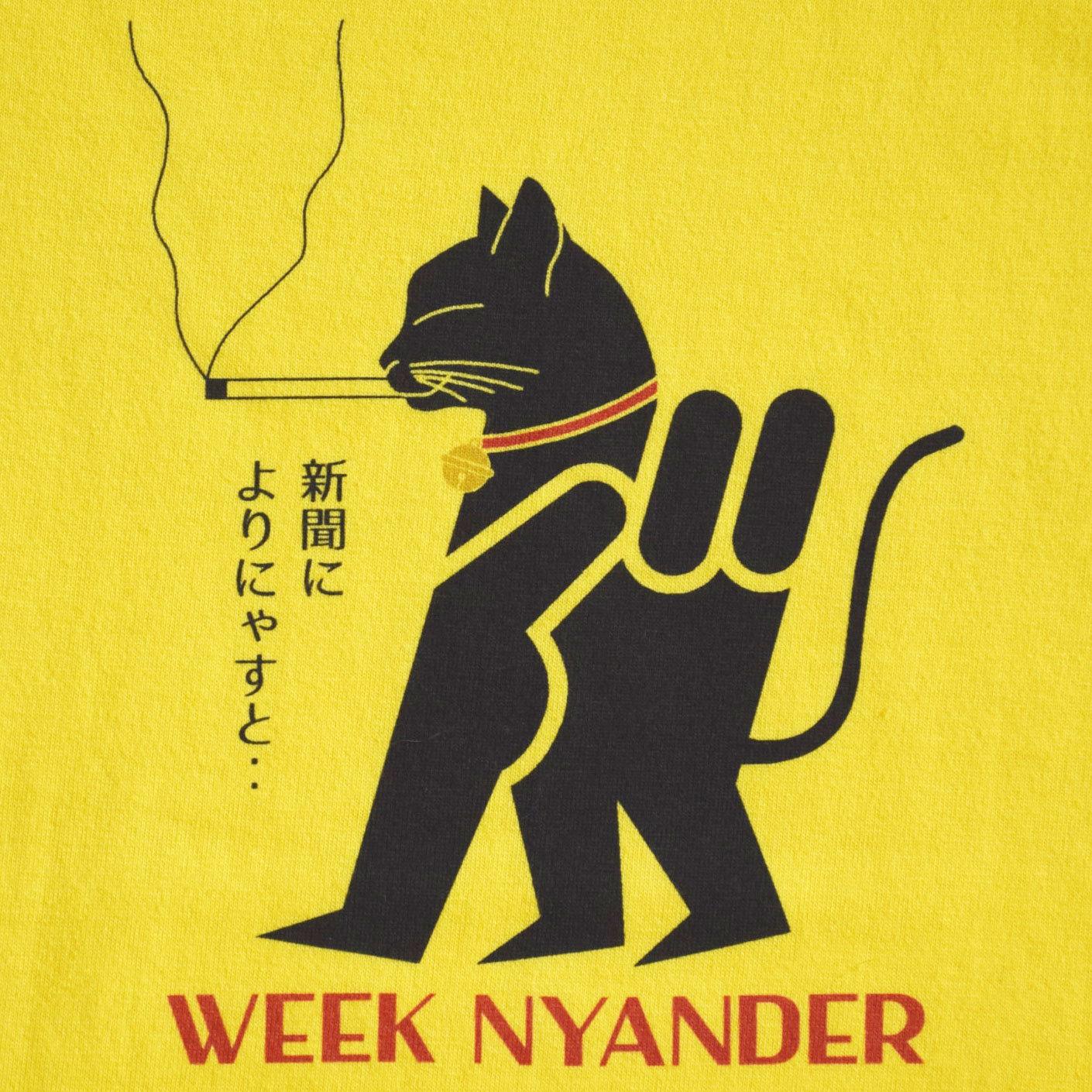 WEEK NYANDER Tシャツ - 【Lady's】