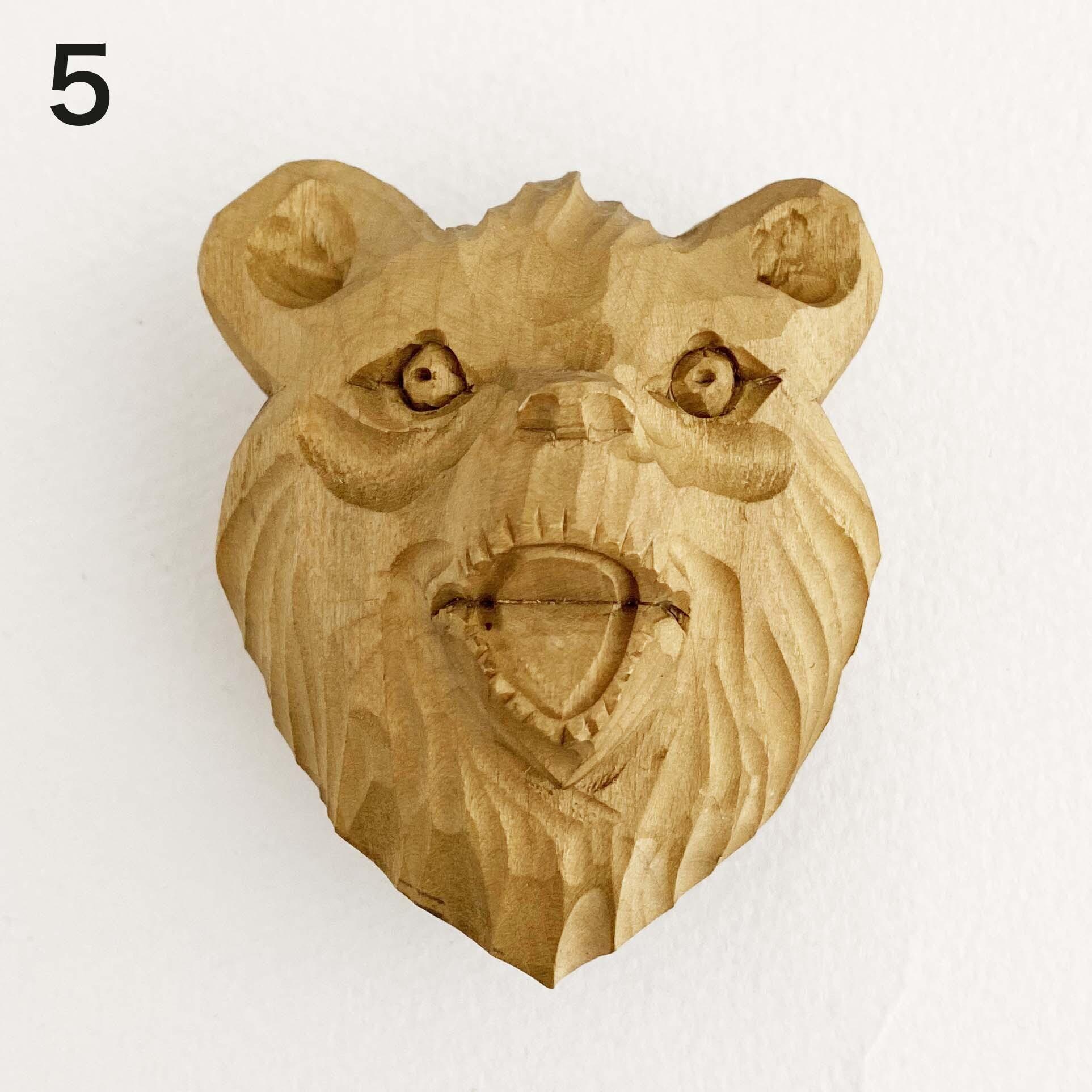 熊のループタイ / 大(ボゴロツコエ産)
