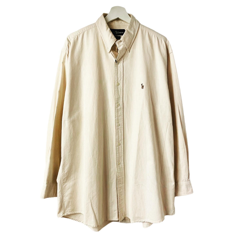 Ralph Lauren stripe OX B.D.shirt