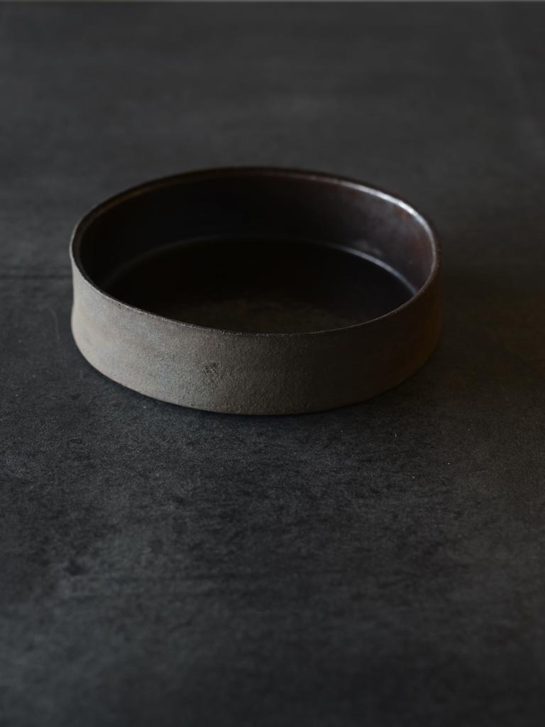 伊藤環 錆銀彩5寸切立銘々鉢