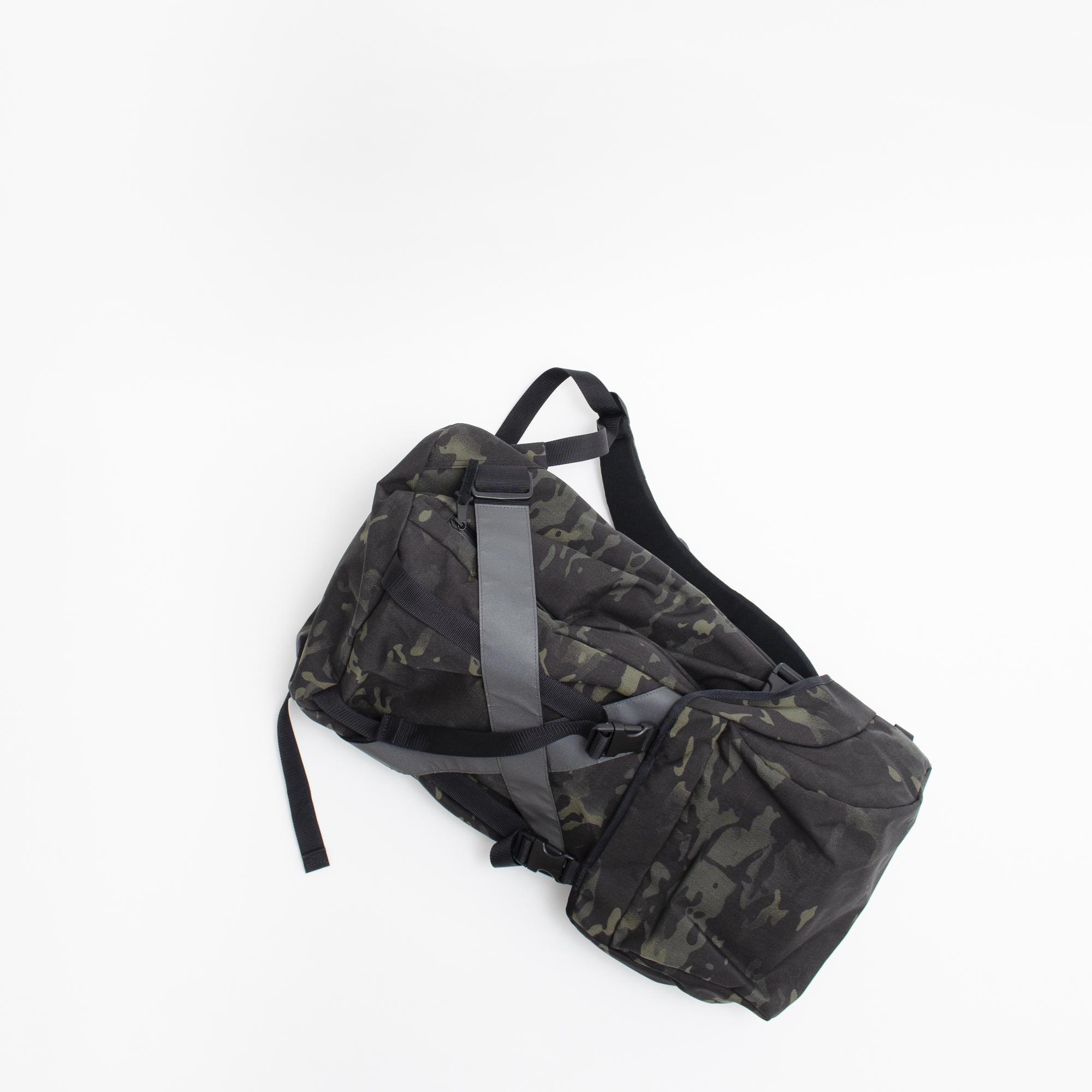 KaILI BACKPACK XV (BLACK/MULTICAM)