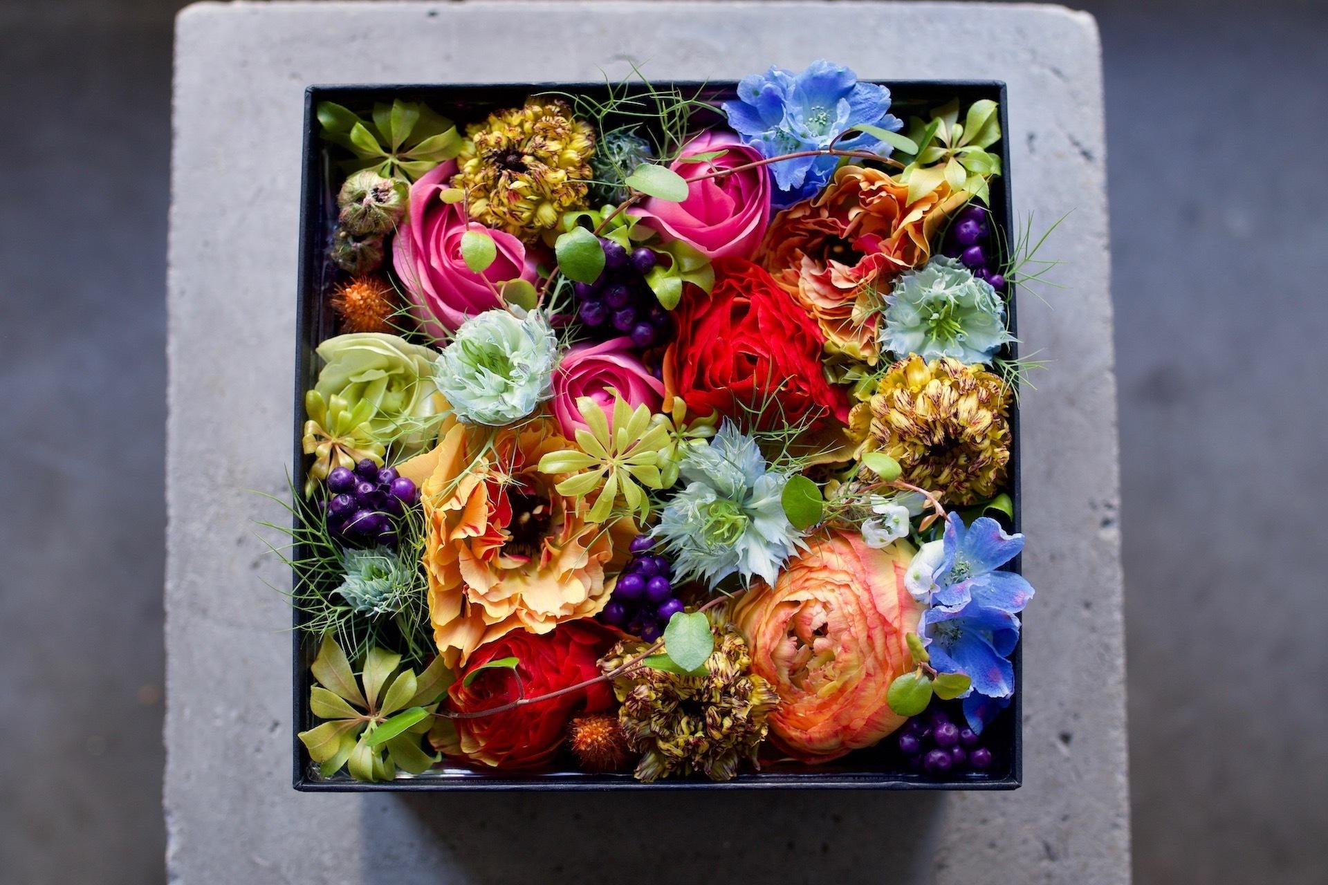 Box arrangement