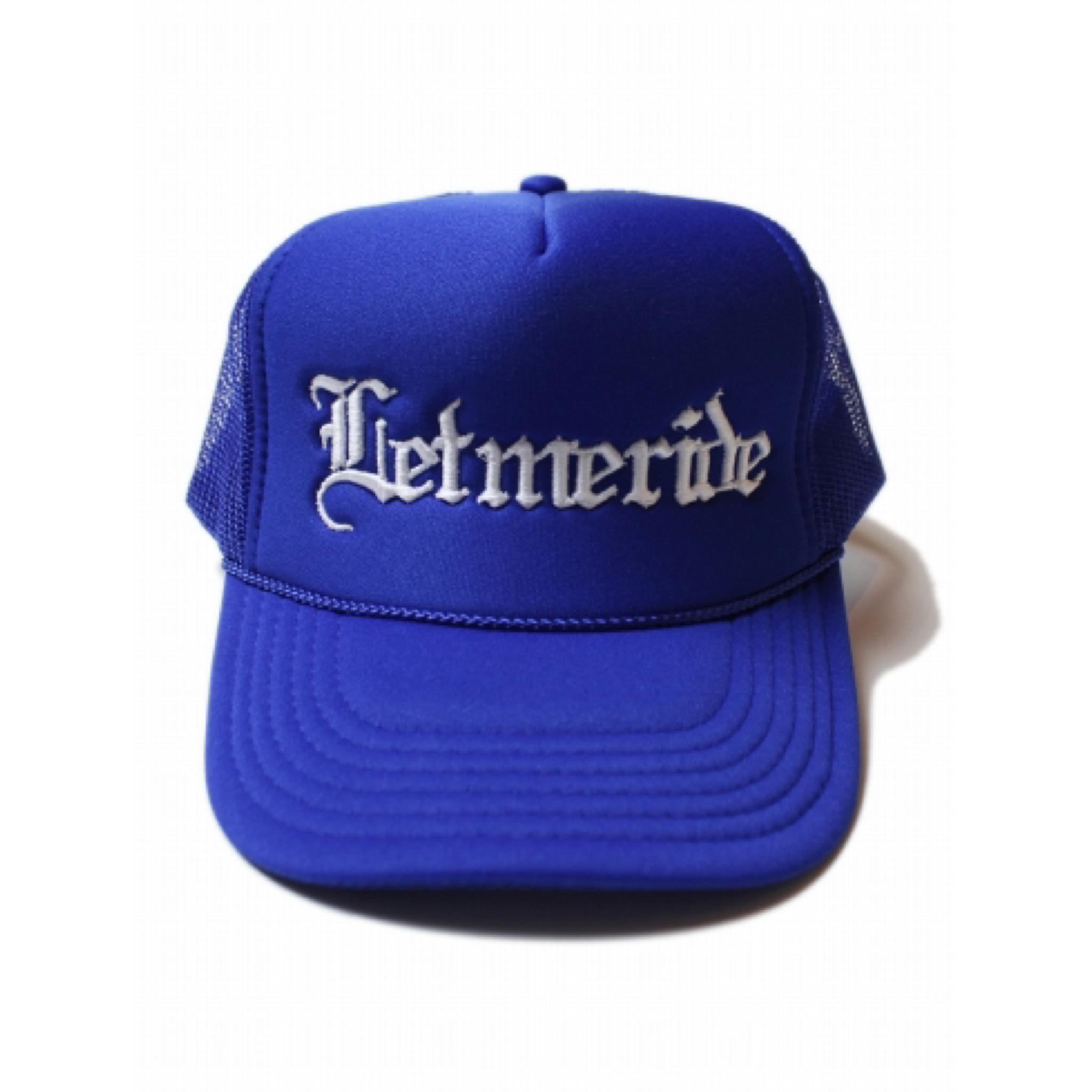 RUTHLESS #L.M.R Mesh Cap〔R.Blue〕
