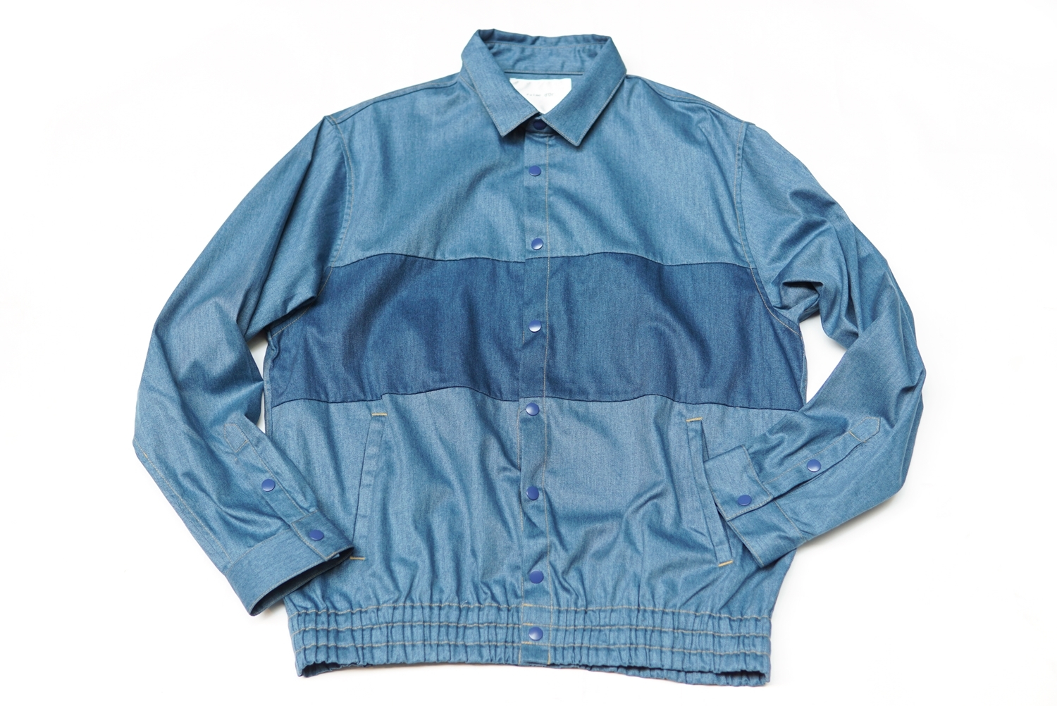 IMITATION DENIM BLOUSON