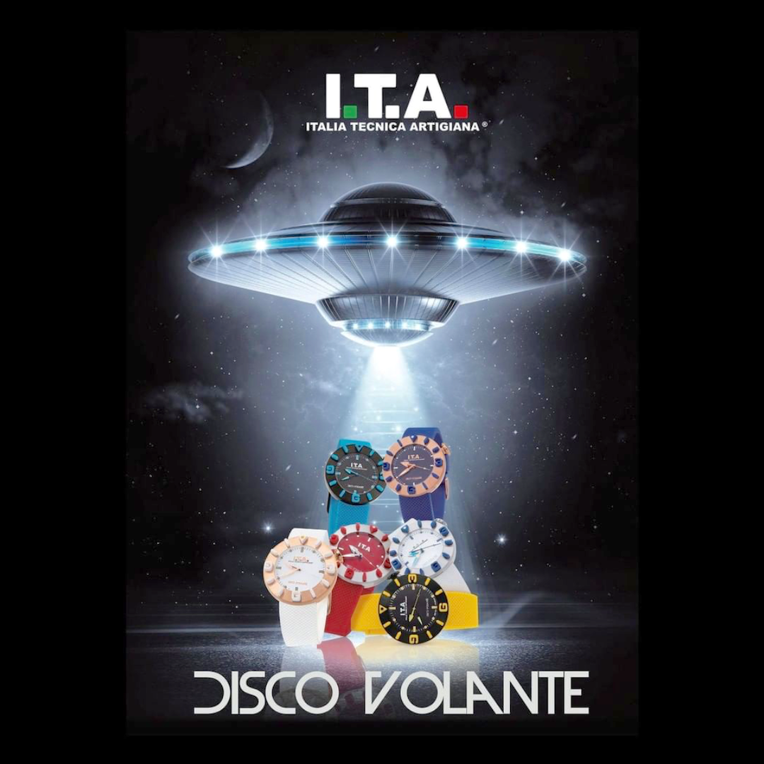 【I.T.A. アイティエー】DISCO VOLANTE ディスコ・ボランテ(レッド)/正規輸入品