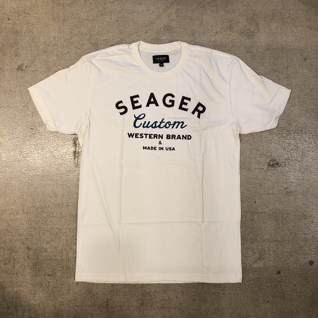 SEAGER #Badlands Tee