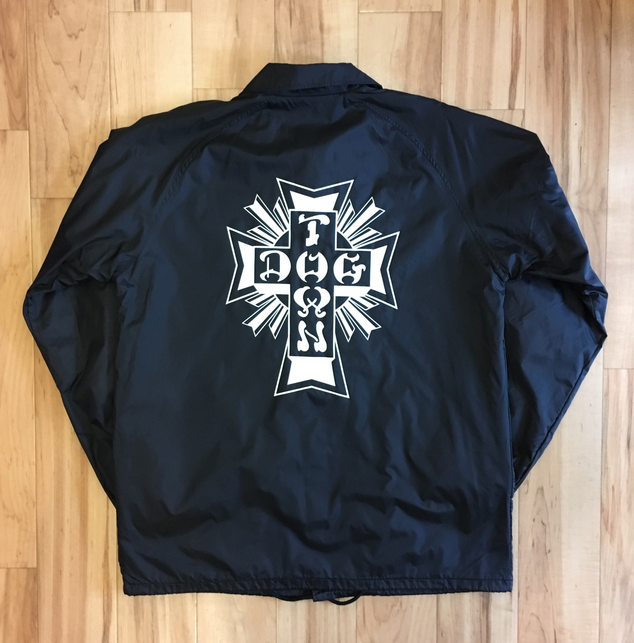 "DOGTOWN ""CROSS LOGO"" Coach Jacket <New>"
