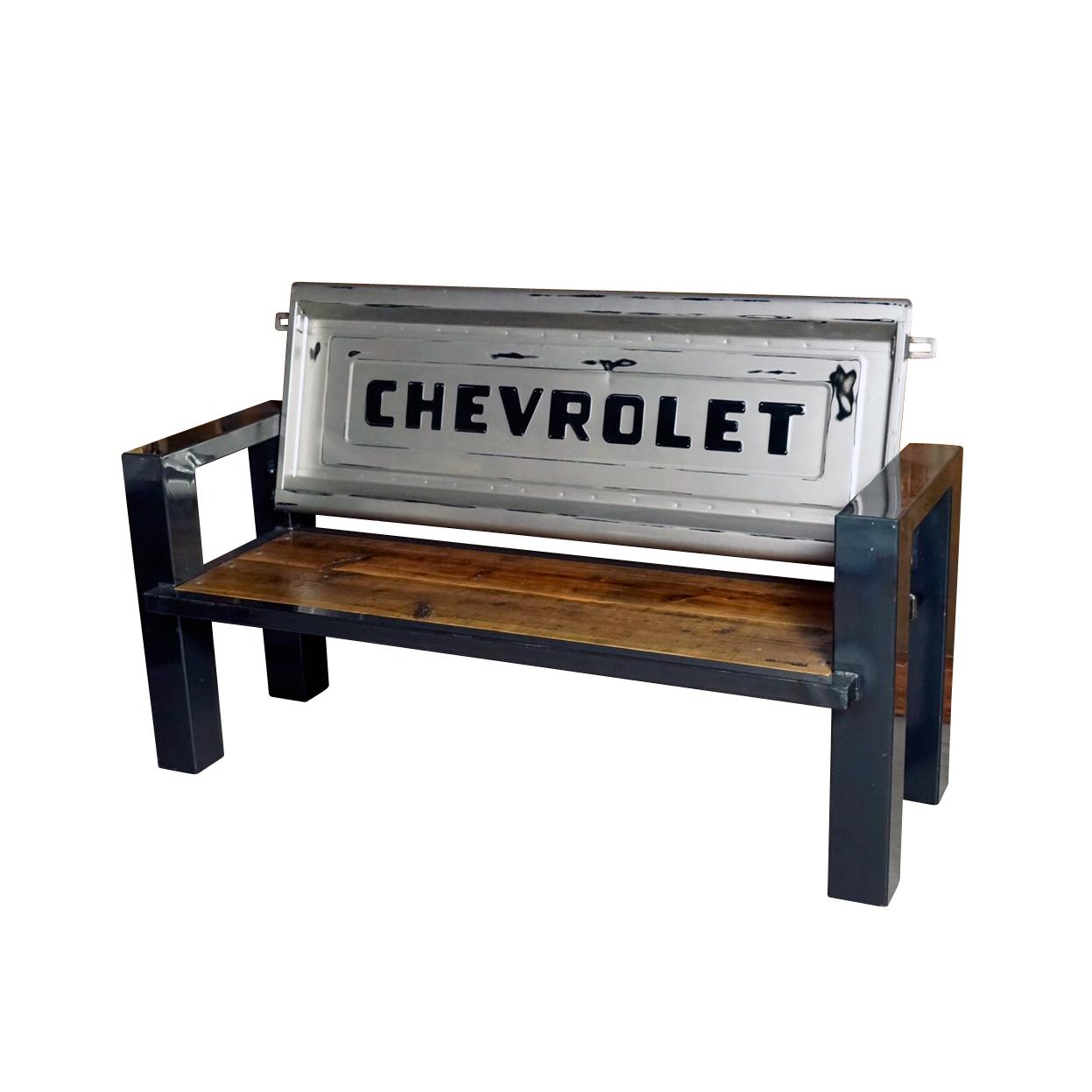 M-LINE CHEVROLET TAILGATE BENCH 【WOOD】テールゲートベンチ