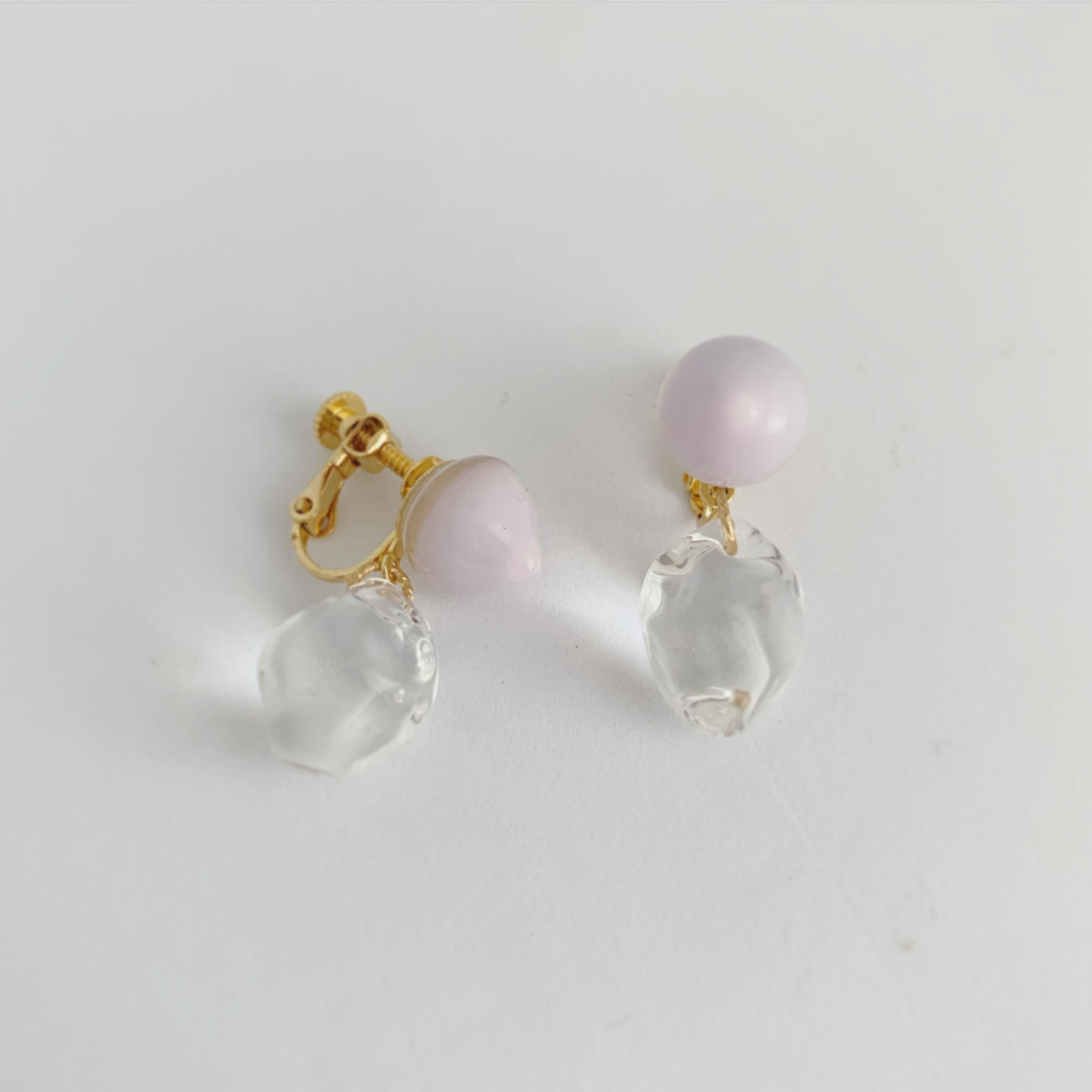 [Bonbon] meringue II  lv / Earring