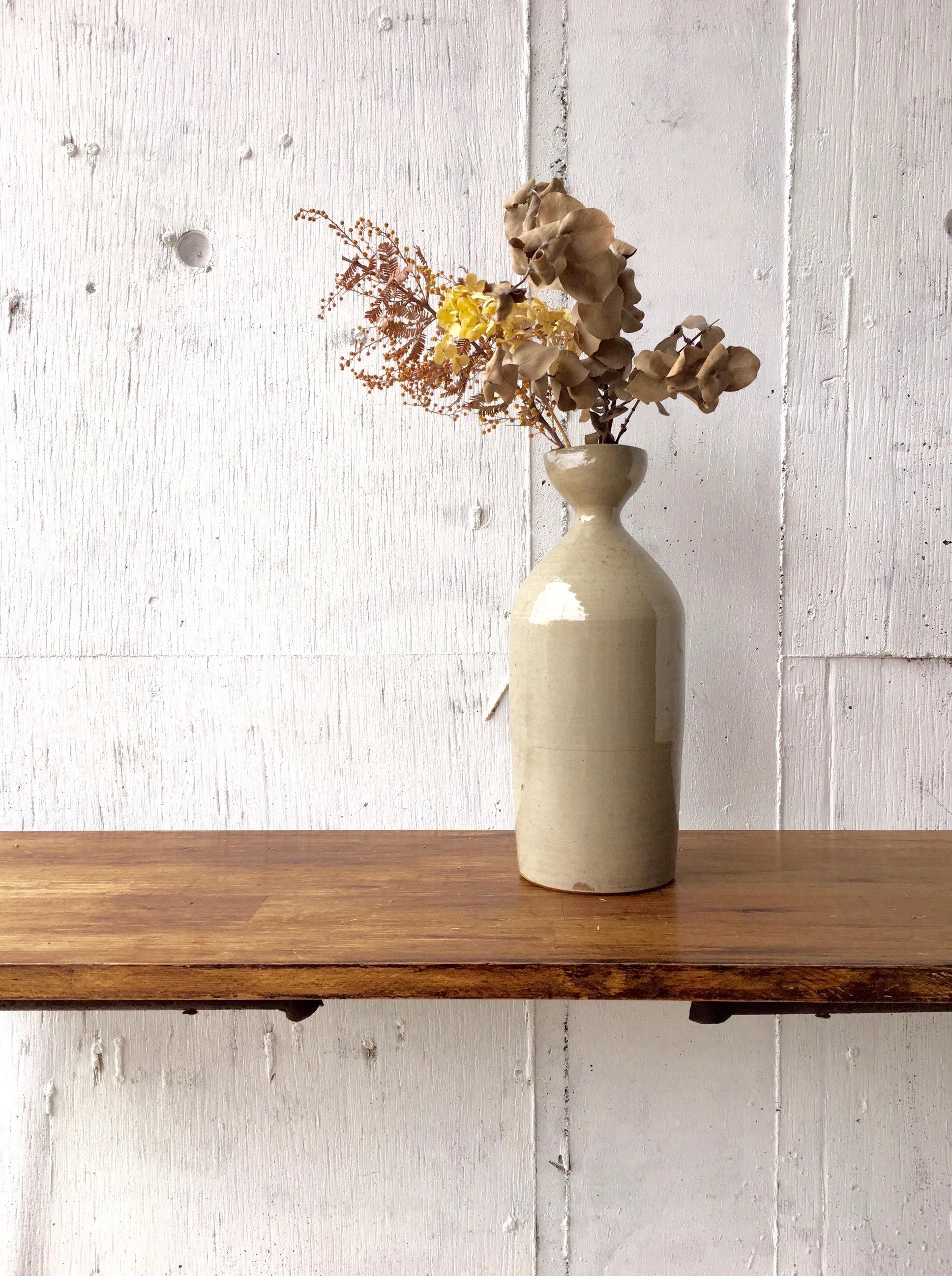 少し背のある花瓶[古道具]