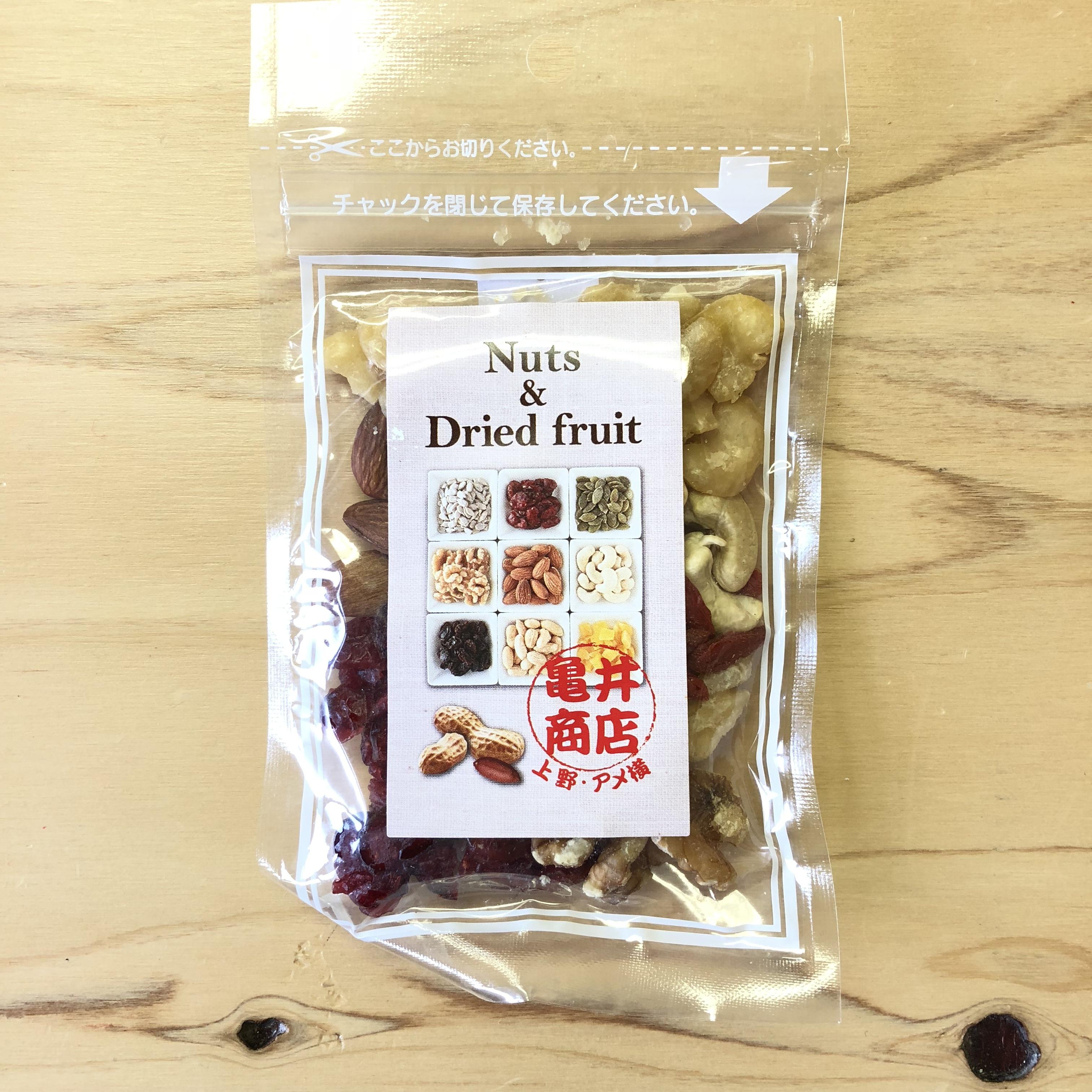 亀井商店 / ちよちよミックス 6種のナッツとドライフルーツ