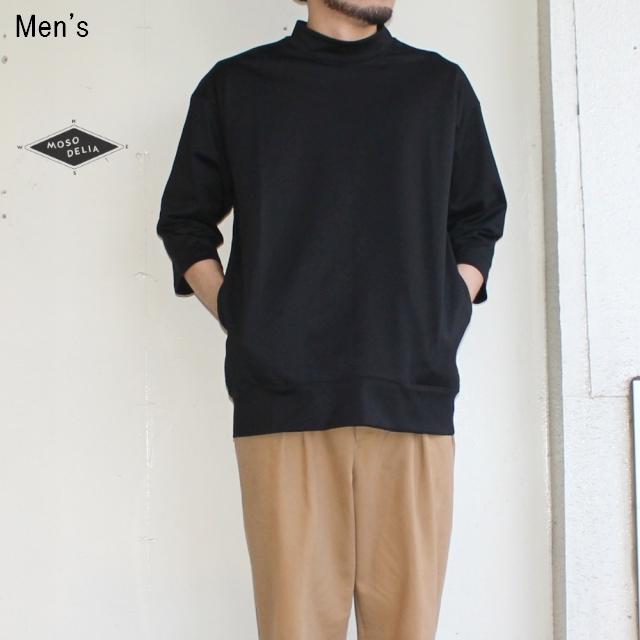 MOSODELIA 度詰めモックネック7/S (BLACK)