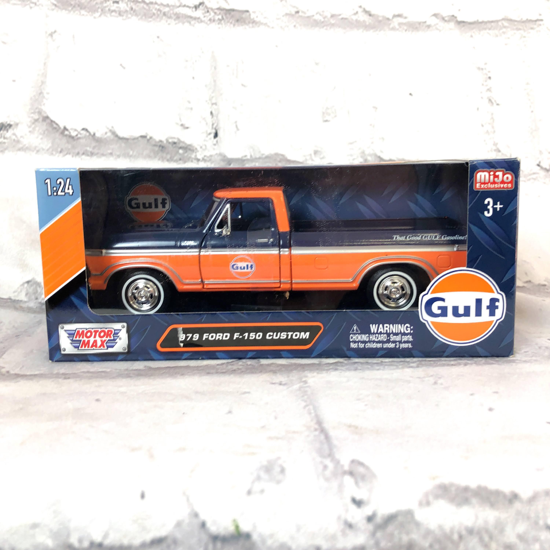 品番3982 未開封 1/24スケール MOTORMAX 1979 フォード F-150 カスタムピックアップ トラック ガルフ ダイキャストカー 011