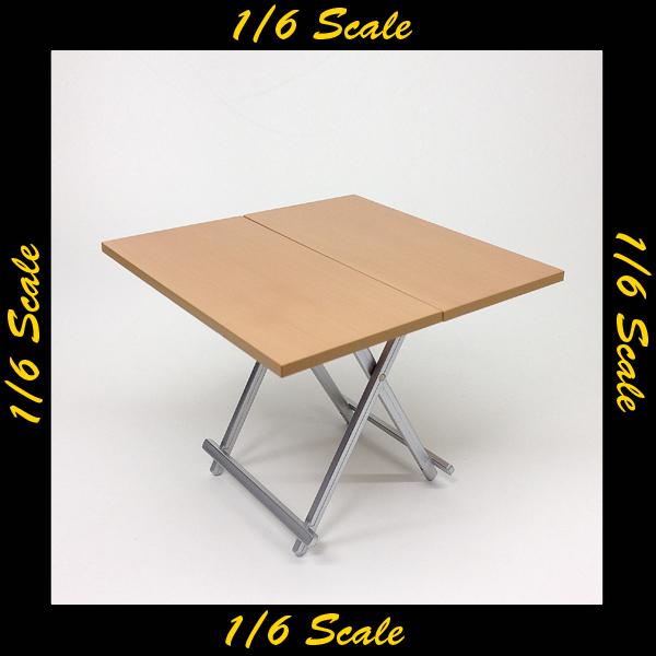 【01372】 1/6 ZY-TOYS 折りたたみ机