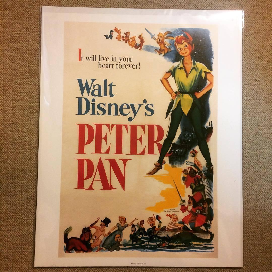 ポスター「ディズニー ピーターパン」 - 画像1