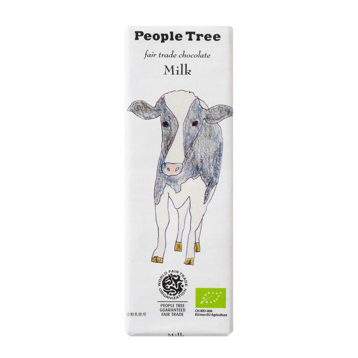 People Tree フェアトレードチョコ オーガニック ミルク ピープルツリー
