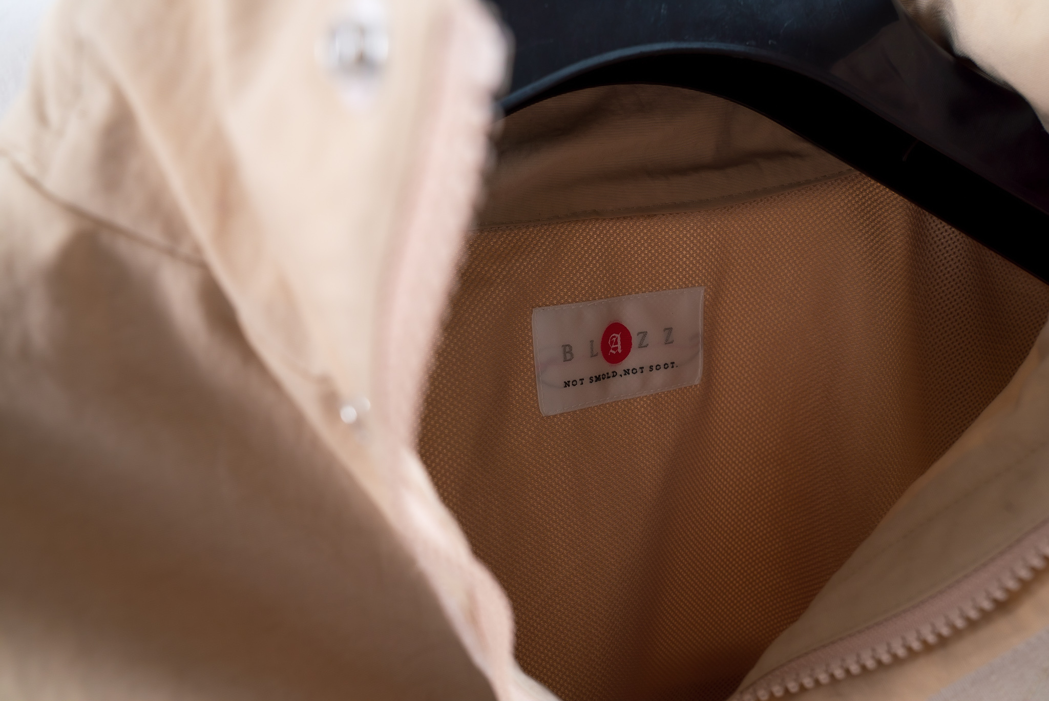 BLAZZ Anorak / Made in JAPAN -KHAKI x RED-