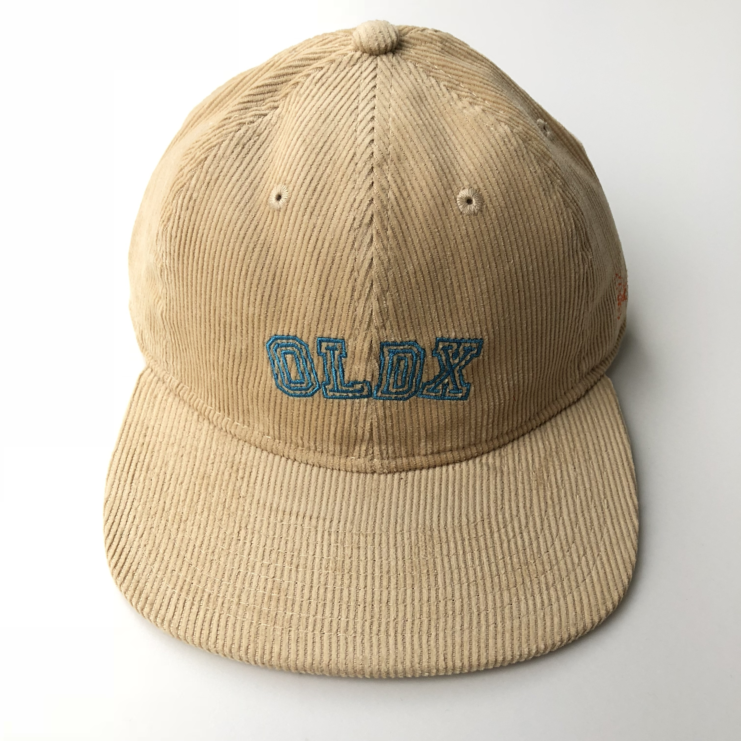 Life goes on corduroy cap BEIGE