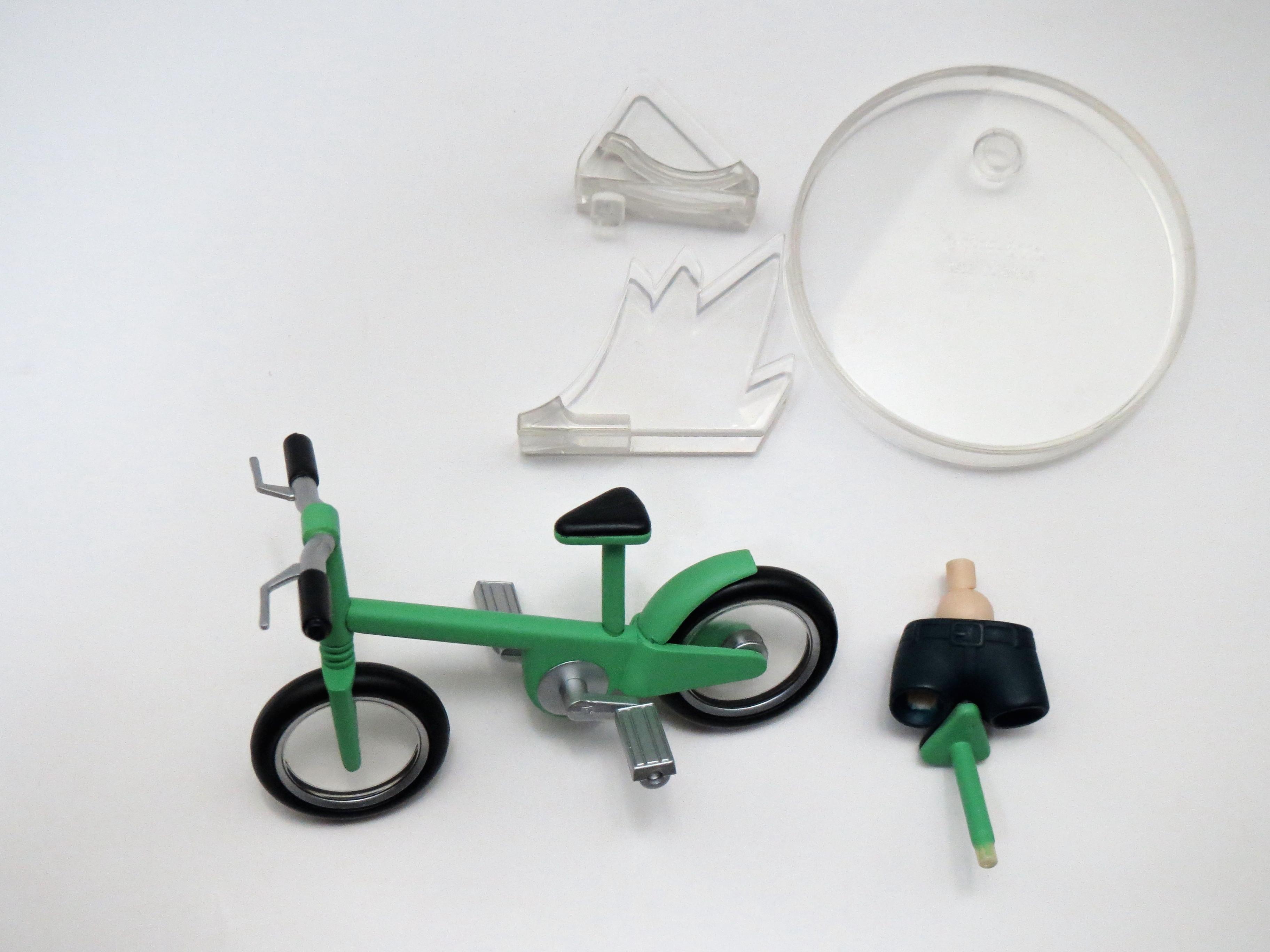 【021】 ちゃりんこライダー 小物パーツ 自転車 ねんどろいど