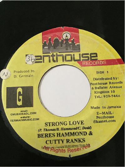 Beres Hammond(ベレスハモンド) & Cutty Ranks(カッティランクス) - Strong Love【7'】