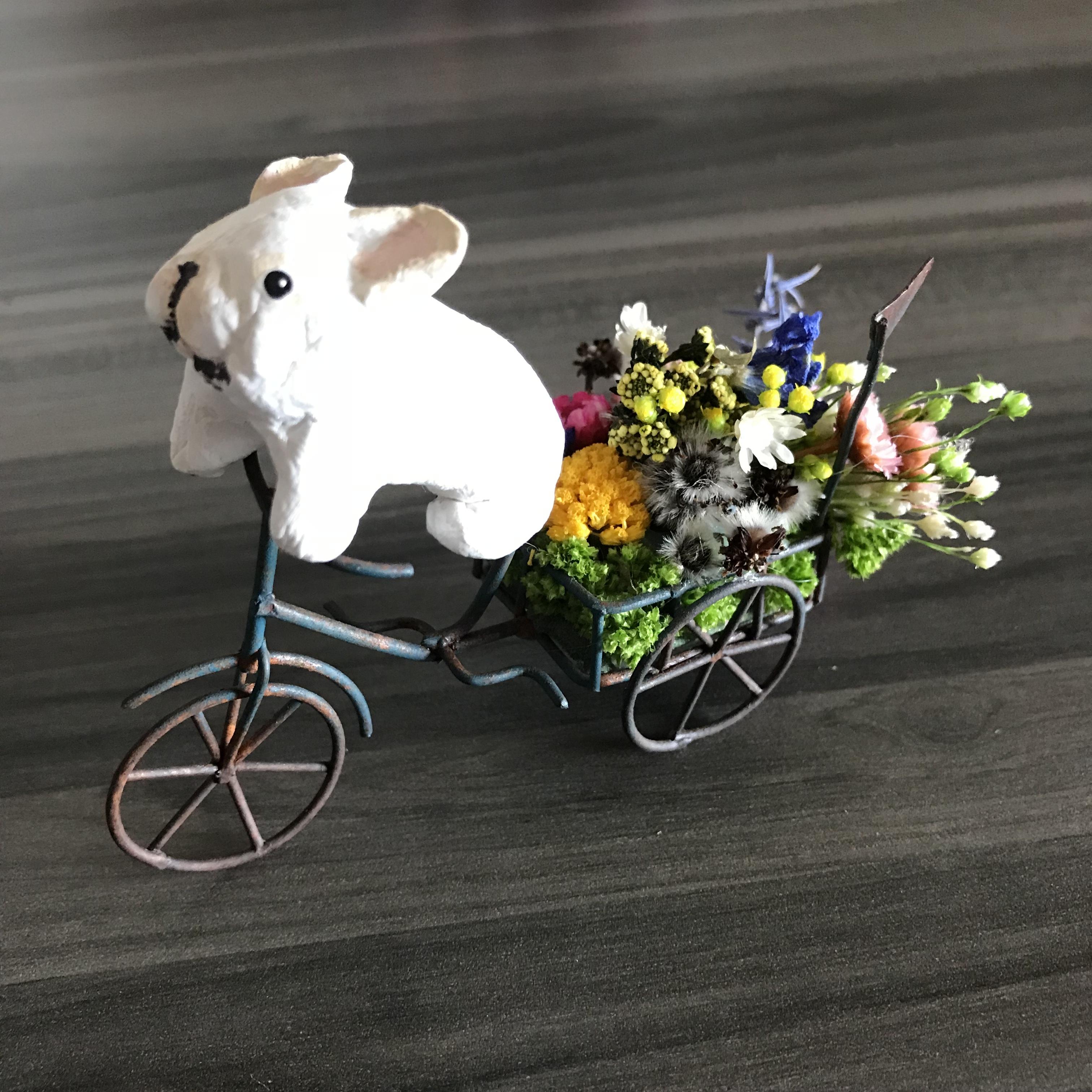 幸せをお届けするBUHI(三輪車)小③