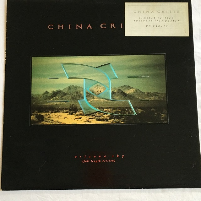 【12inch・米盤】China Crisis / Arizona Sky (Full Length Version)