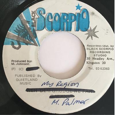 Michael Palmer(マイケルパーマー) - My Region